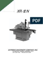 Xr 12n Manual