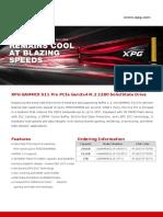 Datasheet_XPG GAMMIX S11 Pro_EN_20190328