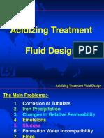 Acidos fluido diseño