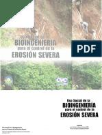 Uso de La Bioingenieria Para El Control de Erosion Severa