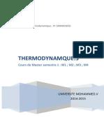 Cours Master Thermodynamique3 Chaptre 1