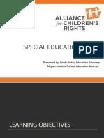 15 09 10 CASA Special Education Presentation