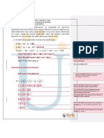 Cálculo Diferencial Primera Actividad Unad