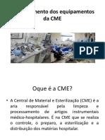 Funcionamento Dos Equipamentos Da CME