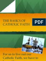 Basics of Catholic Faith