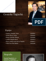 Genichi Taguchi Nueva