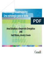 Experiencia Canadiense en Roadmapping