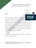 El historiador como lector modelo: Consideraciones semiótico-comunicativas sobre el papel del historiador en el proceso de decodificación y cooperación textual
