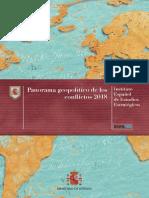 Panorama Geopolitico Conflictos 2018