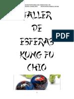 Esfera kung fu chio y color