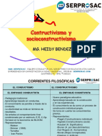Teorías Pedagogicas Constructivismo y Socioocnstructivismo