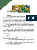 Modelo Proyecto Ludico de Centro