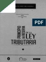 Principio Reserva de Ley Tributaria (Varios)