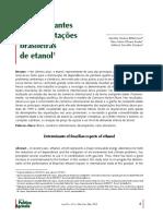 Determinantes das exportações brasileiras de etanol