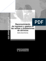 Reconocimiento Ingresos y Gastos en Ventas y Servicios (Martha Abanto B.)