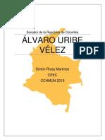Carpeta-debate-Álvaro-Uribe-Vélez