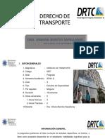 Derecho de Transporte septiembre 18