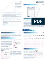 Answer Booklet Guide 2015 - 1