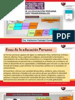 Principios de La Educación Peruana y Enfoques Transversales