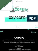 Xxv Copeiq 2019