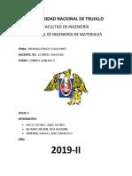 Universidad Nacional de Trujillo Informe Completo