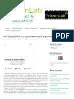 WiFi ESP12 (ESP8266)_ Programando Com a IDE Do Arduino - FritzenLab
