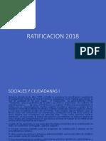 RATIFICACION 2018 COMPLETA