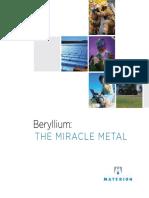 Beryllium - The Miracle Metal