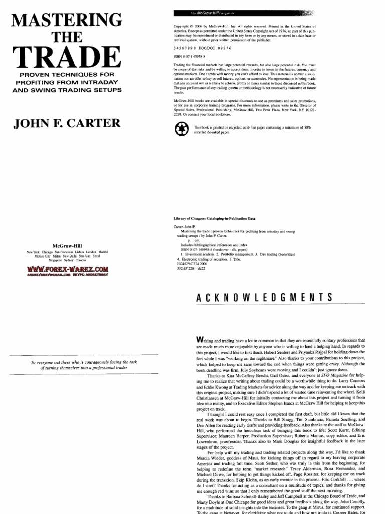 Asly Ember Porn john carter - mastering the trade (another version).pdf