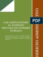 Las Limitaciones Al Dominio Privado en Interc3a9s Pc3bablico Clase Con Modificaciones1