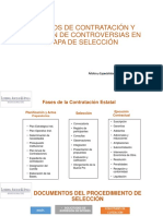 Métodos de Contratación y Solución de Controversias En