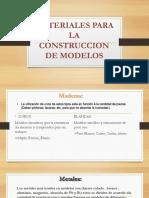 Materiales Para La Construccion de Modelos