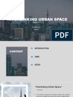 Interlinking Urban Space GROUP 3 to Be Edit