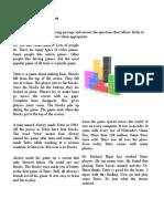 Nonfiction Reading Test Tetris