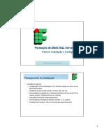 Formacao de DBAs - Parte 2 - Instalacao e Configuracao.pdf