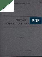 NOTAS DE AFASIA