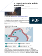 Ring of Fire Activity BBC Jan 2018