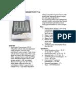 Hygrometer Thermometer Htc