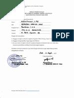 Surat Pernyataan DSLP