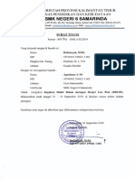Surat Tugas DSLP