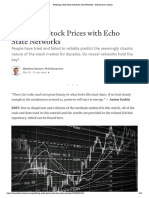 Predicting Stock Prices With Echo State Networks - Towards Data Science