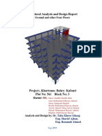 Structural Analysis and Design 2019