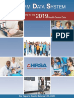 1 Pp 30-33 Reporting Instructions for 2019 Health Center Data