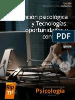 Atención psicológica y tecnologías