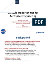 Exascale Opportunities for Aerospace Engineering(PPT,51P)
