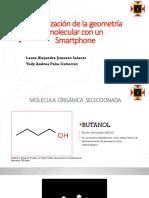Optimización de La Geometría Molecular Con Un Smartphone