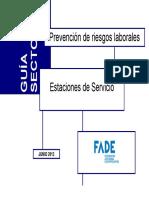 Guía Sectorial. Estaciones de Servicio Bueno