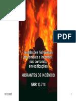 Hidrantes de incendio