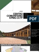 Centro Comunitario KPMG CCTF Taller 5 Exposicion