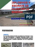 Los Explosivos y Accesorios de Voladura en La Minería